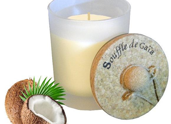 Bougie énergétique Api en cire d'abeille à l'huile de coco - Douceur