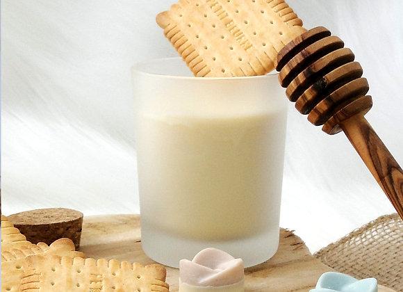Bougie Bien-être 100% Naturelle Senteur Biscuit vanillé