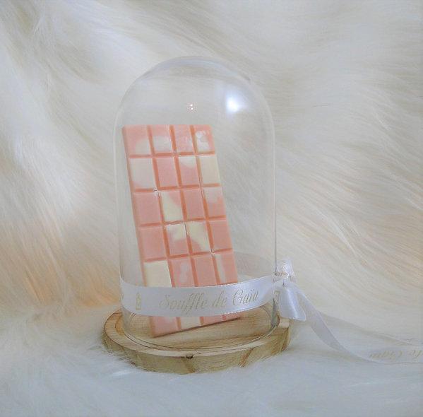 Tablette de cire parfumée senteur Rose / Patchouli