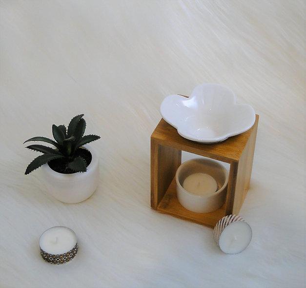 Brûleur à fondant parfumé Bambou fleur