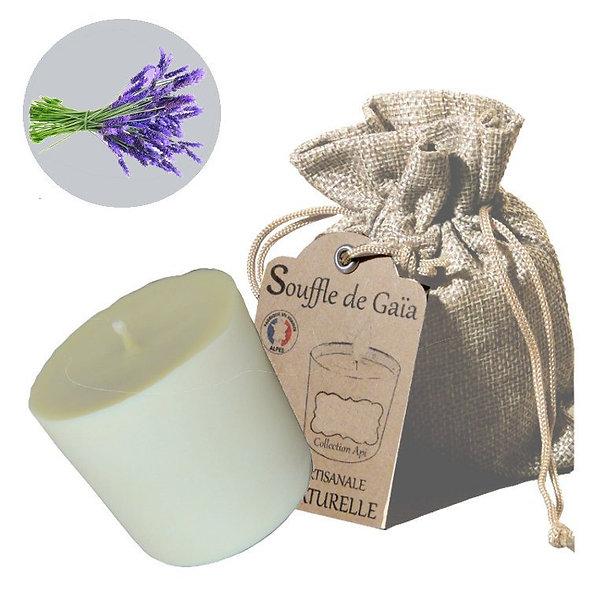 Recharge de Bougie Bien-être 100% naturelle Senteur Bouquet de lavandes