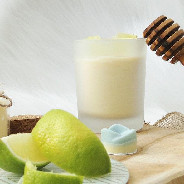 Bougie Bien-être 100% naturelle Senteur Citron vert