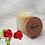 Thumbnail: Bougie naturelle parfumée - Rose passion