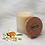 Thumbnail: Bougie naturelle parfumée - Fleur d'oranger