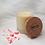 Thumbnail: Bougie naturelle parfumée - Envolée de pétales