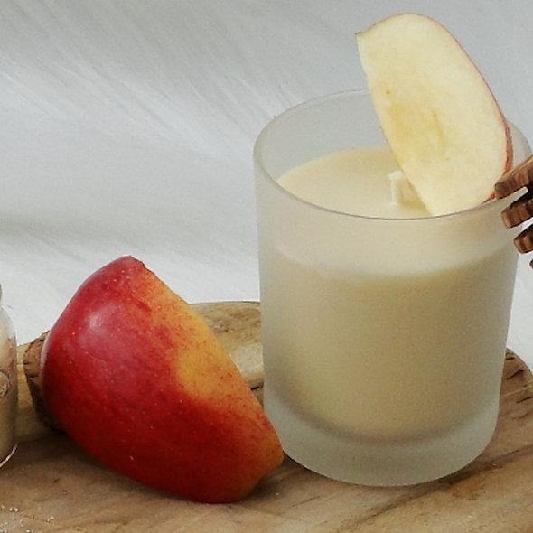 Bougie Bien-être 100% Naturelle Senteur Pomme croquante