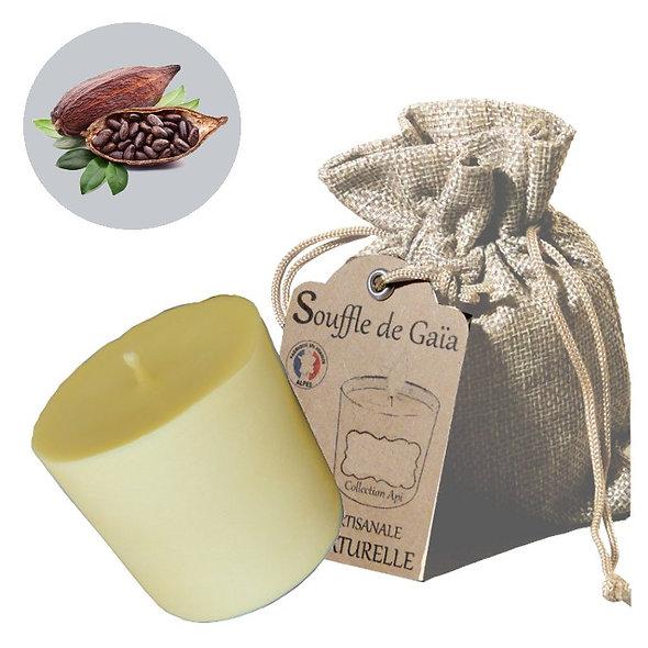 Recharge bougie énergétique Api - cire d'abeille et beurre cacao - lâcher prise