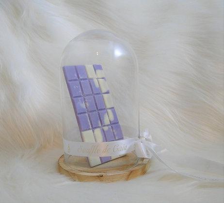Tablette de cire parfumée senteur Fraise / Rhubarbe
