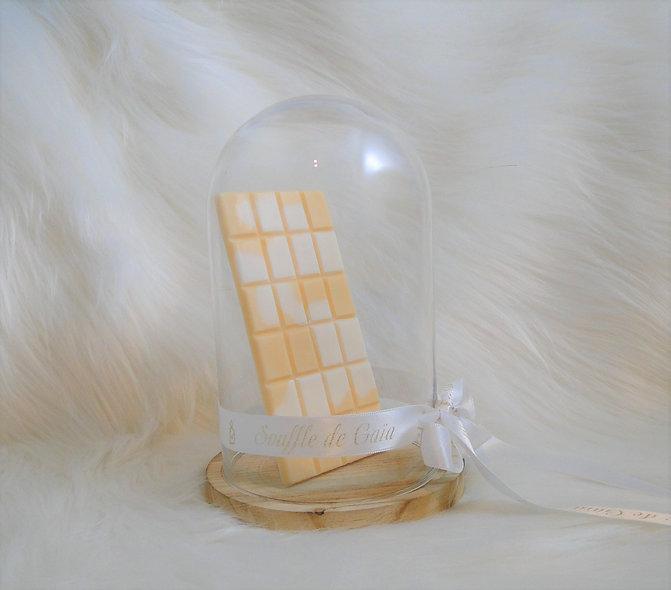 Tablette de cire parfumée senteur Chocolat blanc / Framboise