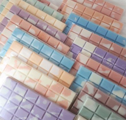 Lot de 5 tablettes de cire parfumée au choix