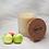 Thumbnail: Bougie naturelle parfumée - Pomme croquante