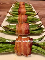 BBQ Pro Shop Factory Team Recipe for Manly Green Bean Bouquets