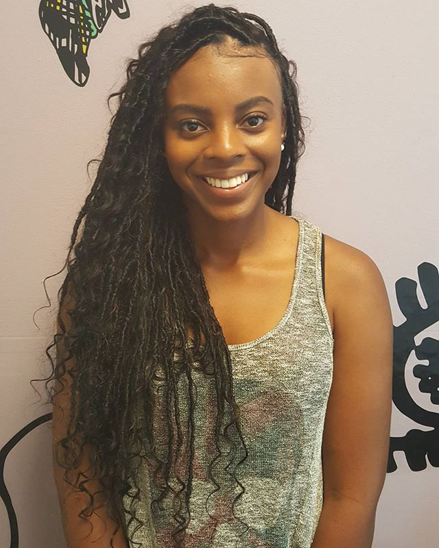 ISLAND GODDESS LOCS _Time_ 5 hours _Hair Included_Book online at www.naturalgirlskillinit