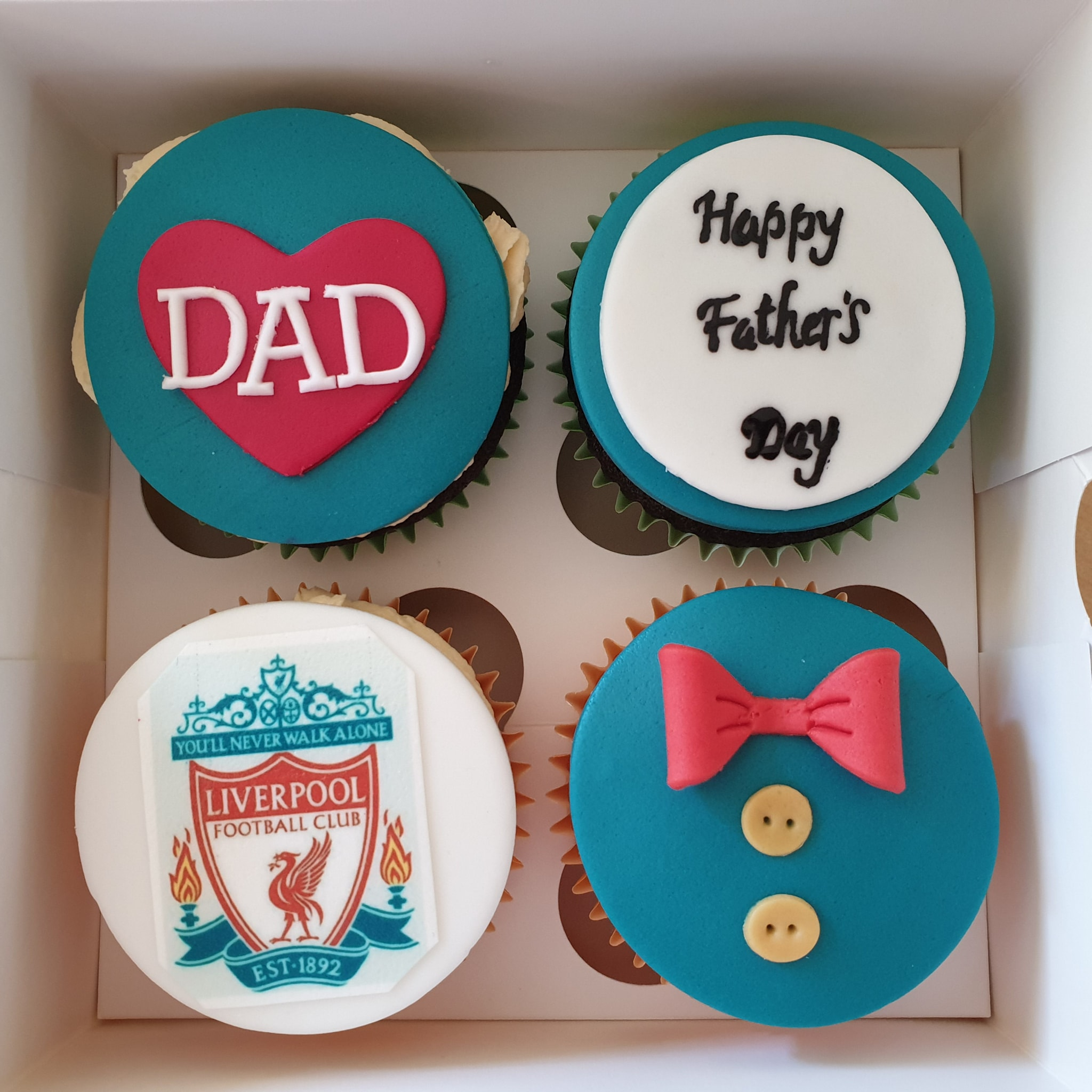 Cupcakes - fathers day Arsenal
