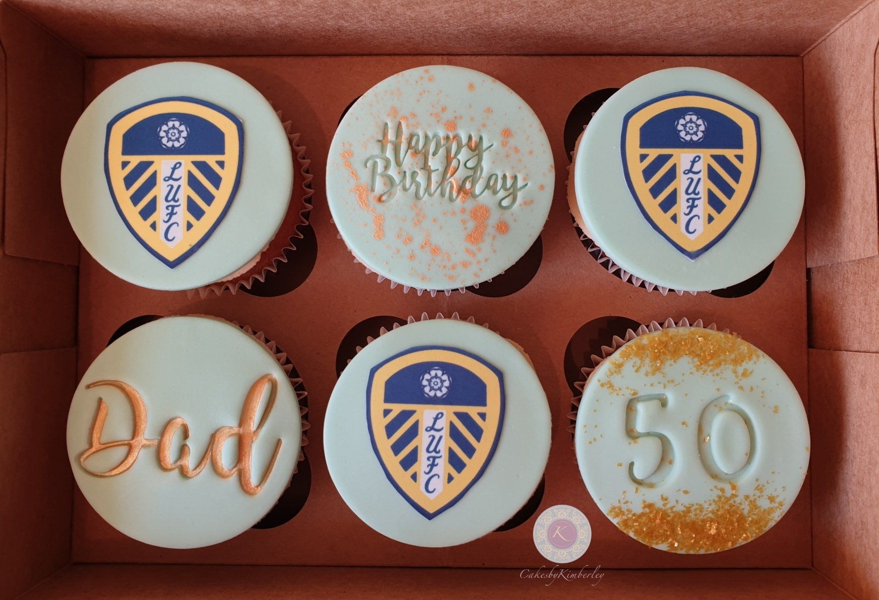 Cupcakes - Leeds 50th
