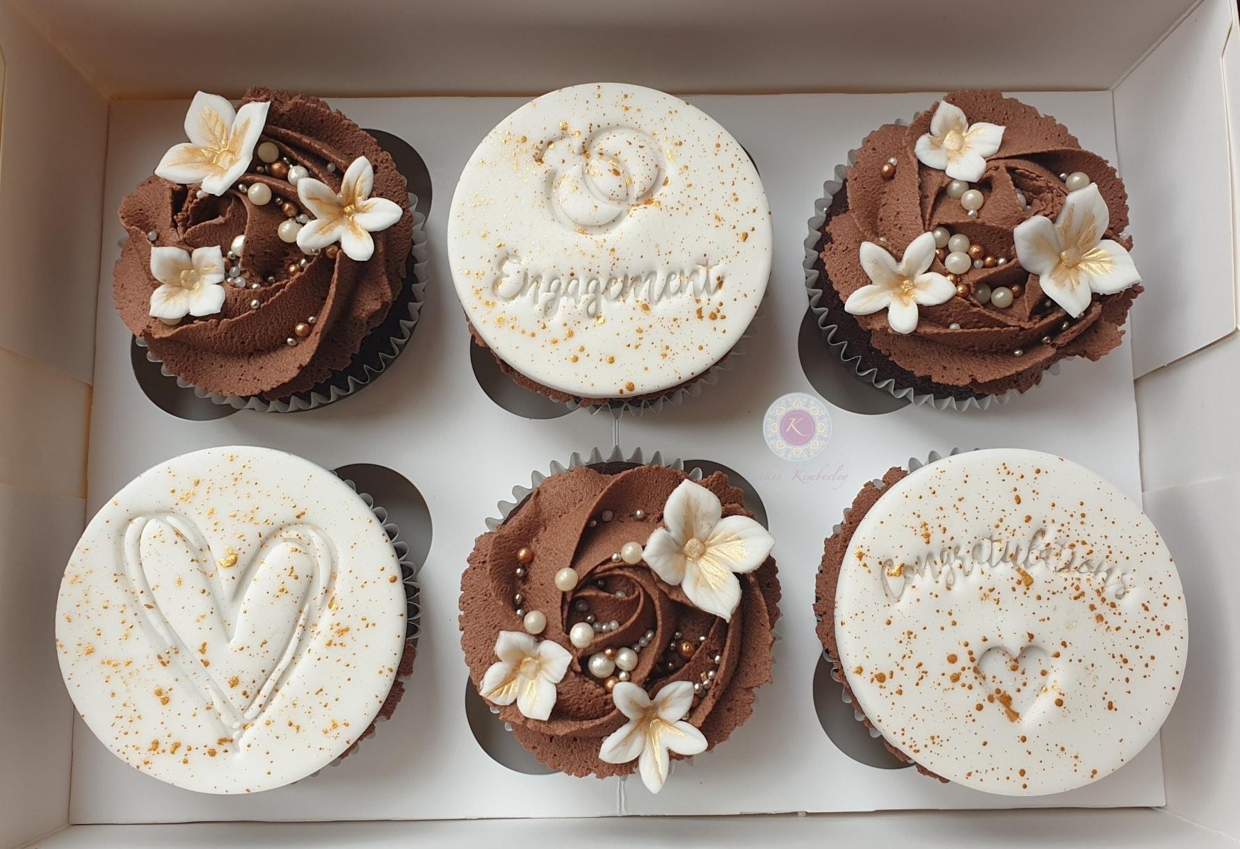 Cupcakes - engagement Jordan