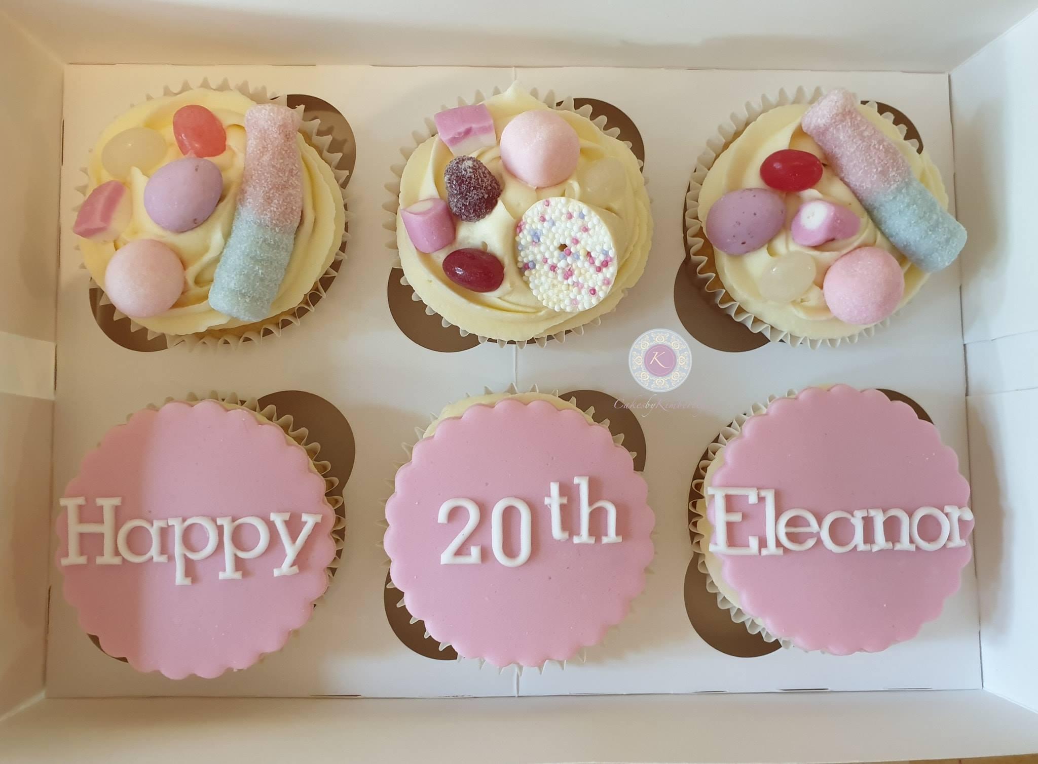 Cupcakes - Eleanor 20th
