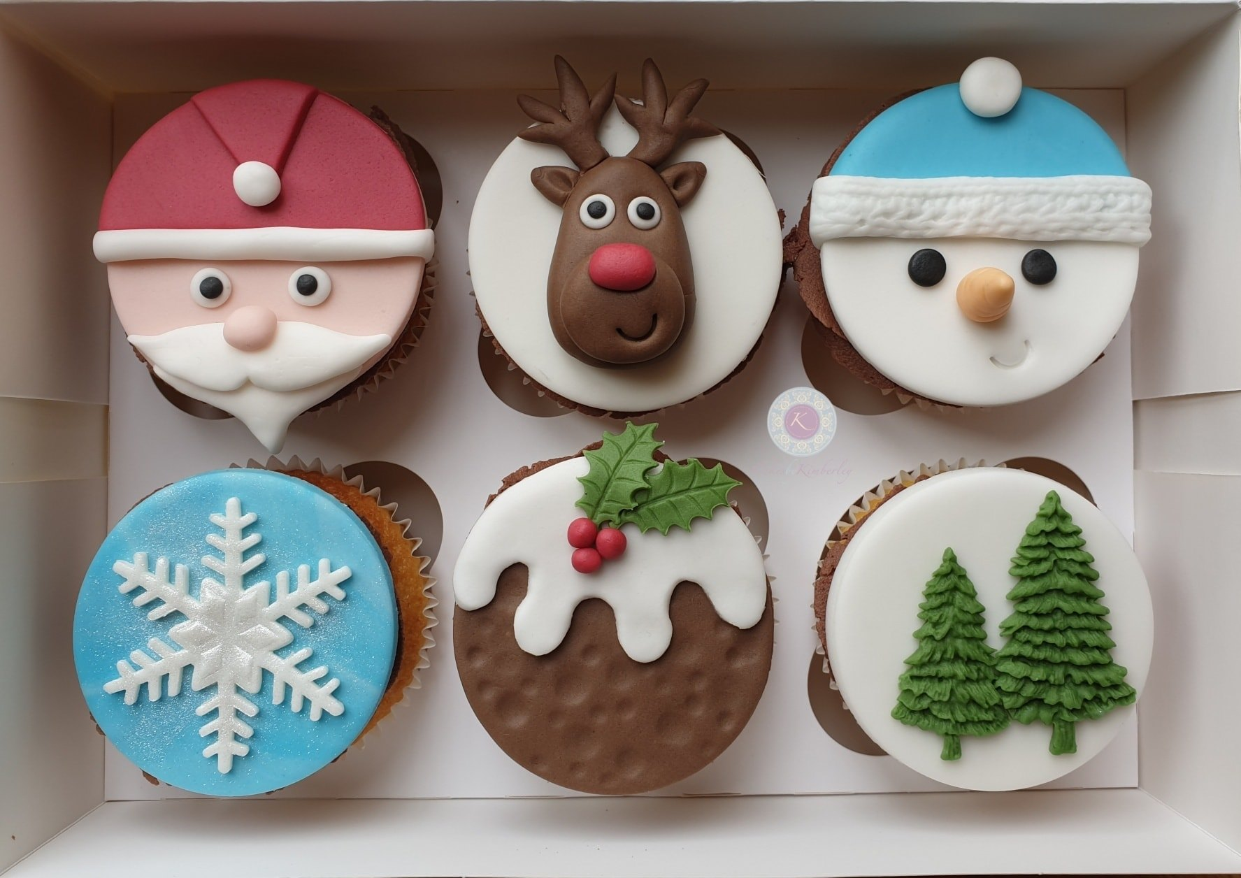 Cupcakes - Xmas mix