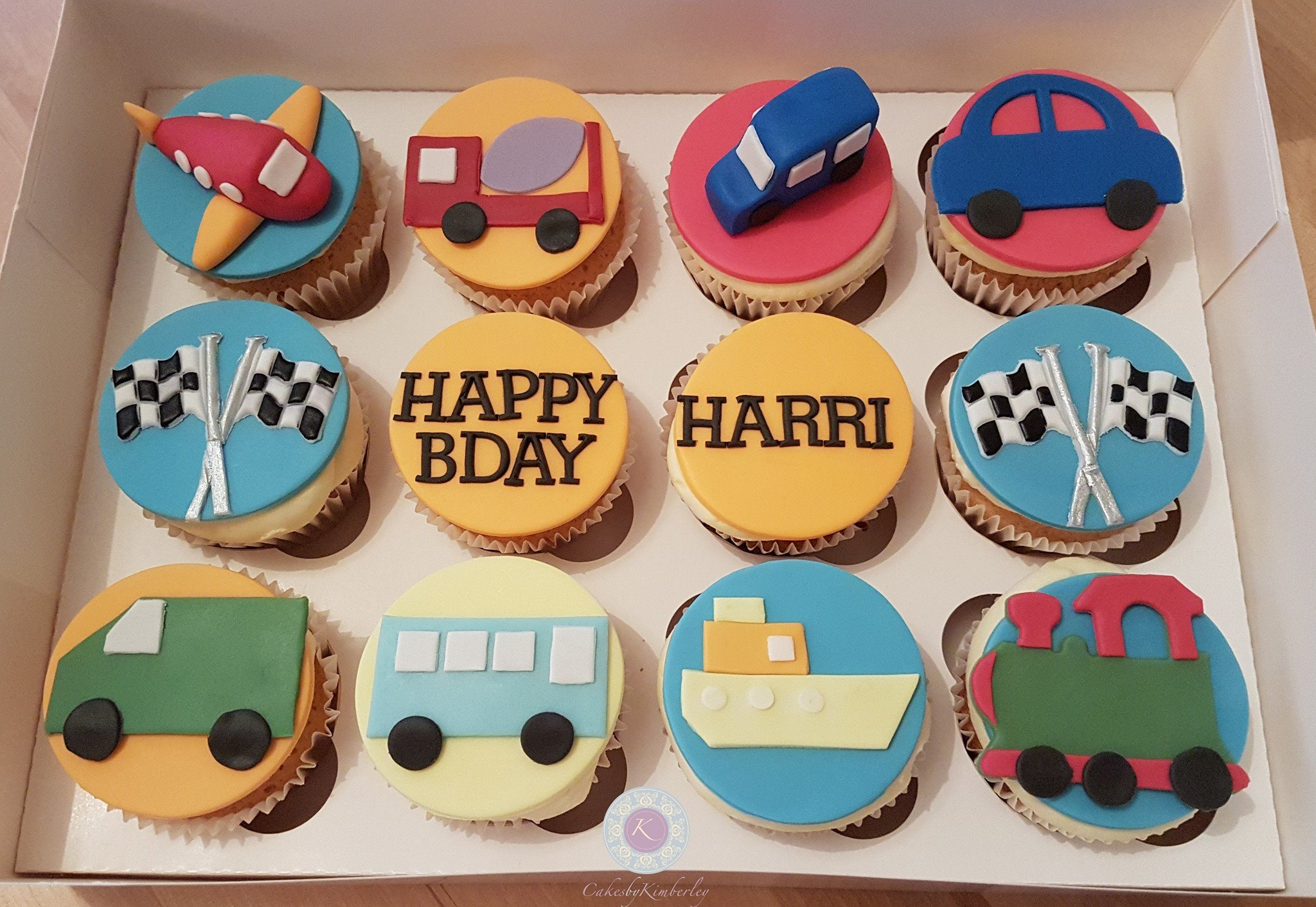 Cupcakes - cars - Harri