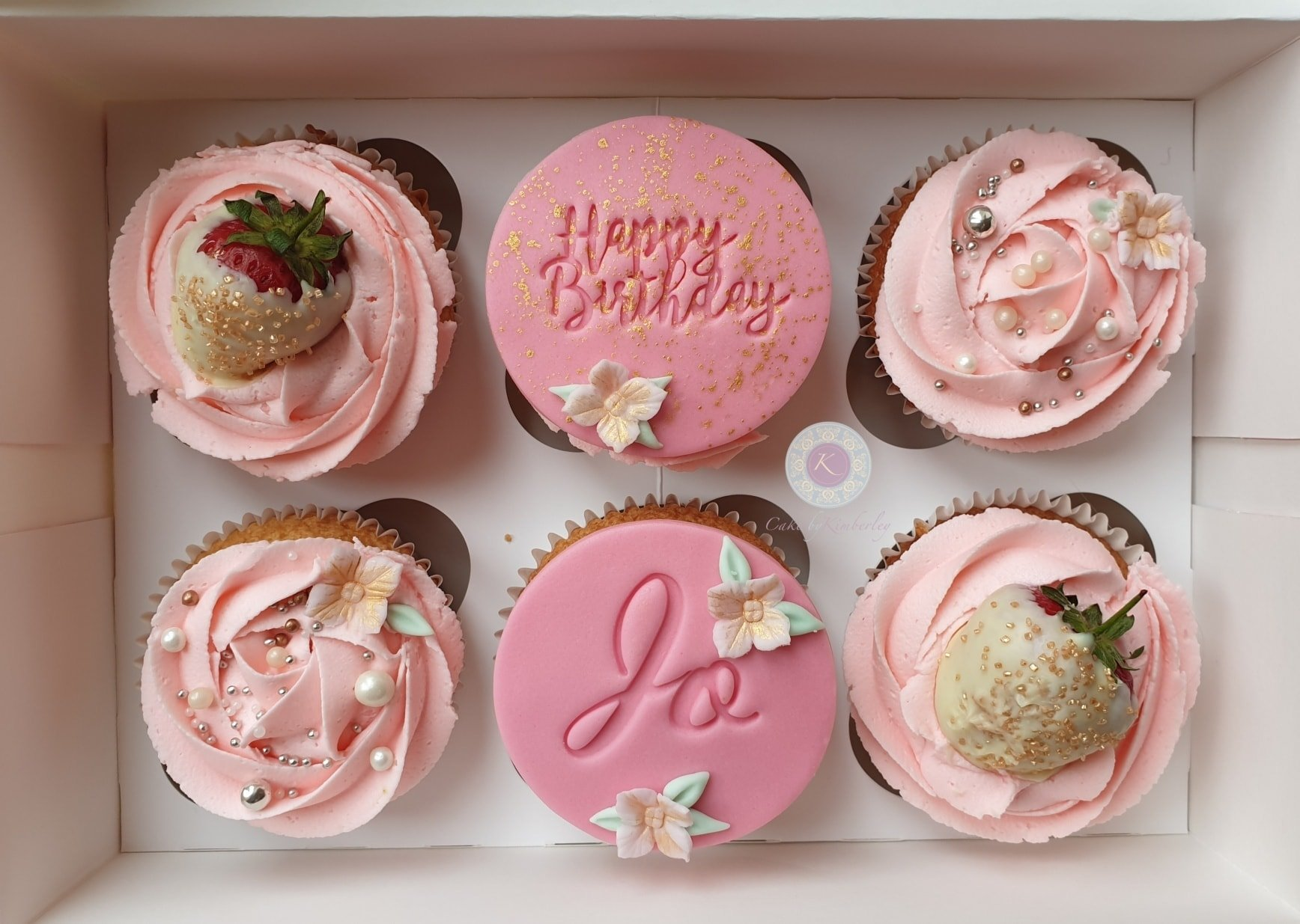 Cupcakes - Jo Pink