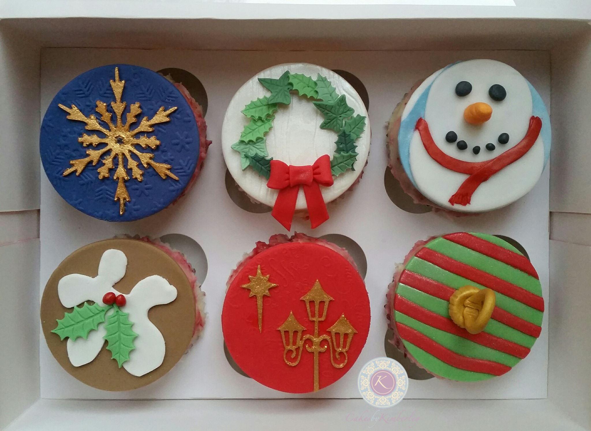 xmas cupcakes 5