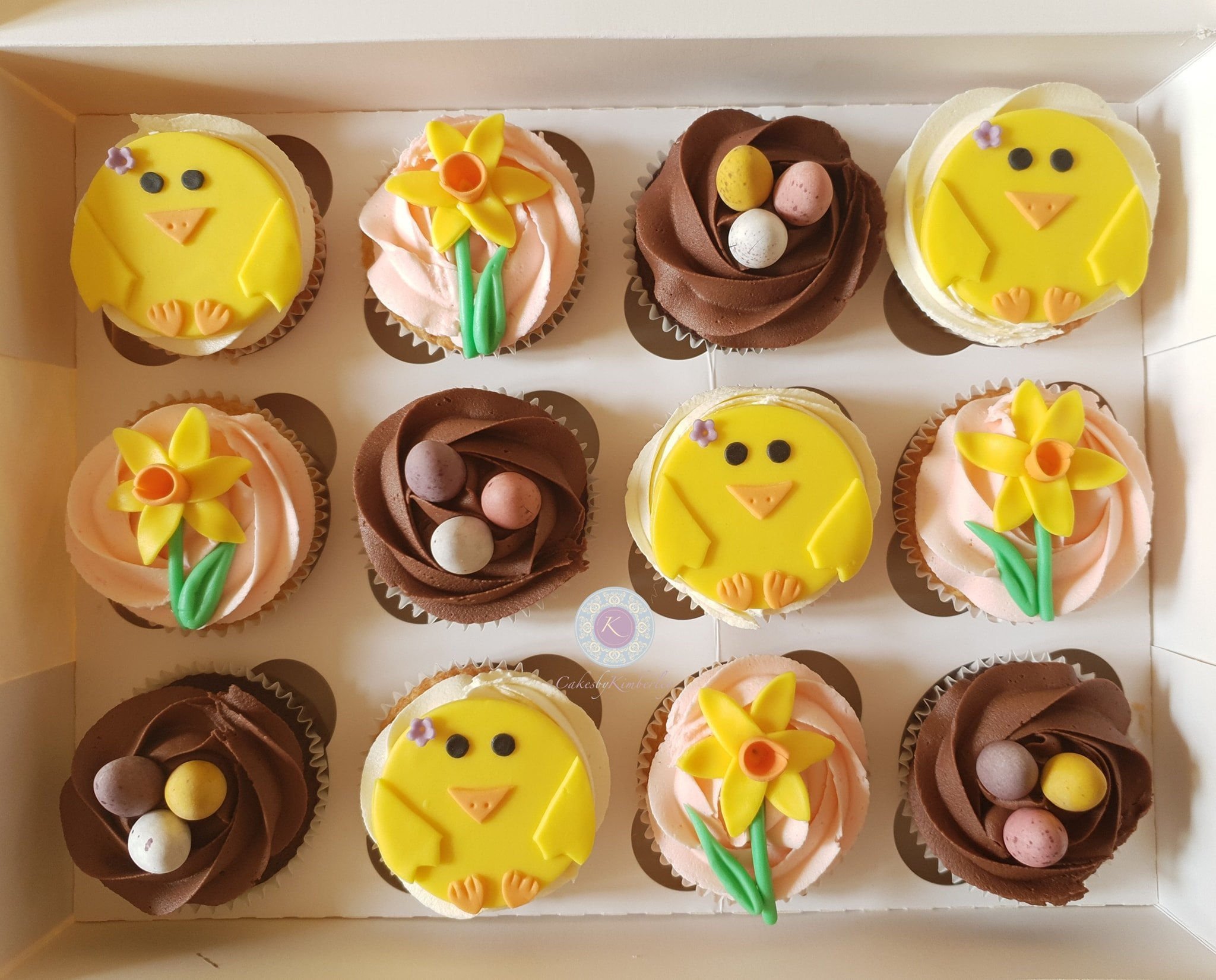 Cupcakes - Easter chicks