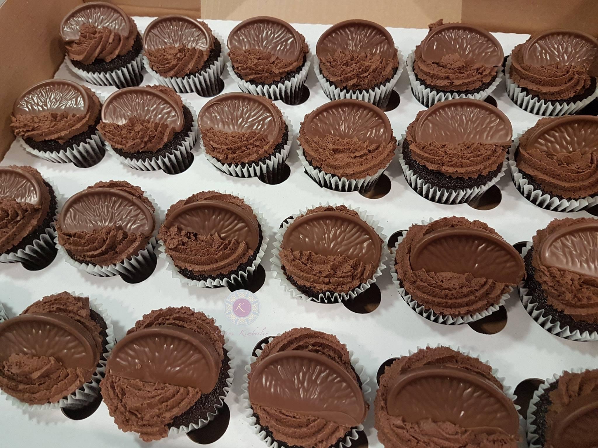 Cupcakes - Chocolate orange