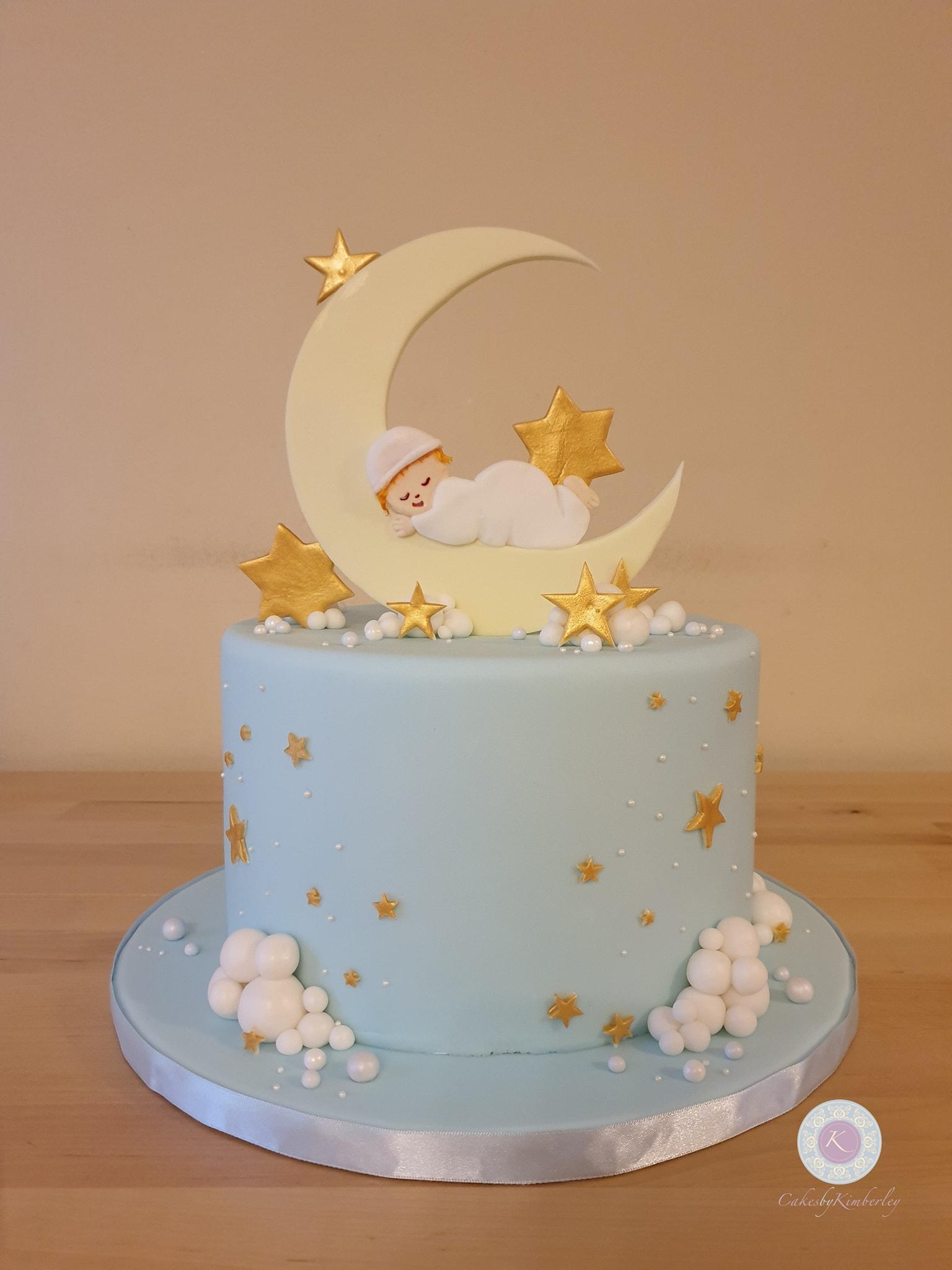 Baby shower - Moon