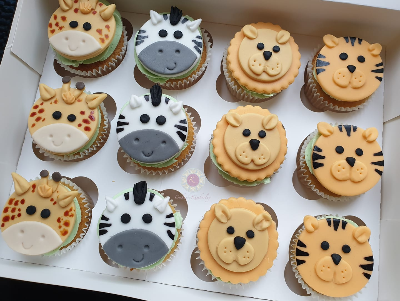 Cupcakes - Jungle