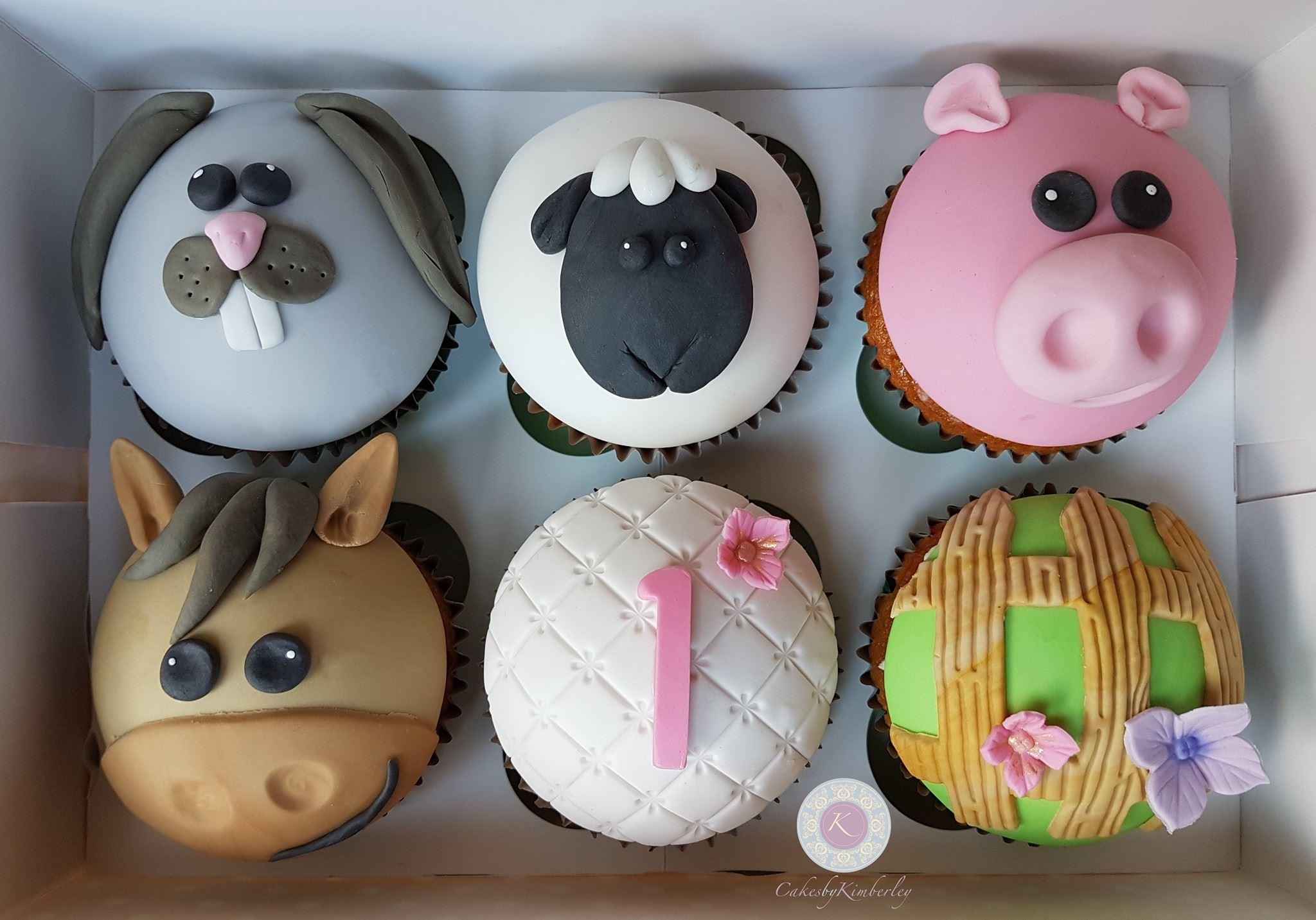 farm cupcakes 1
