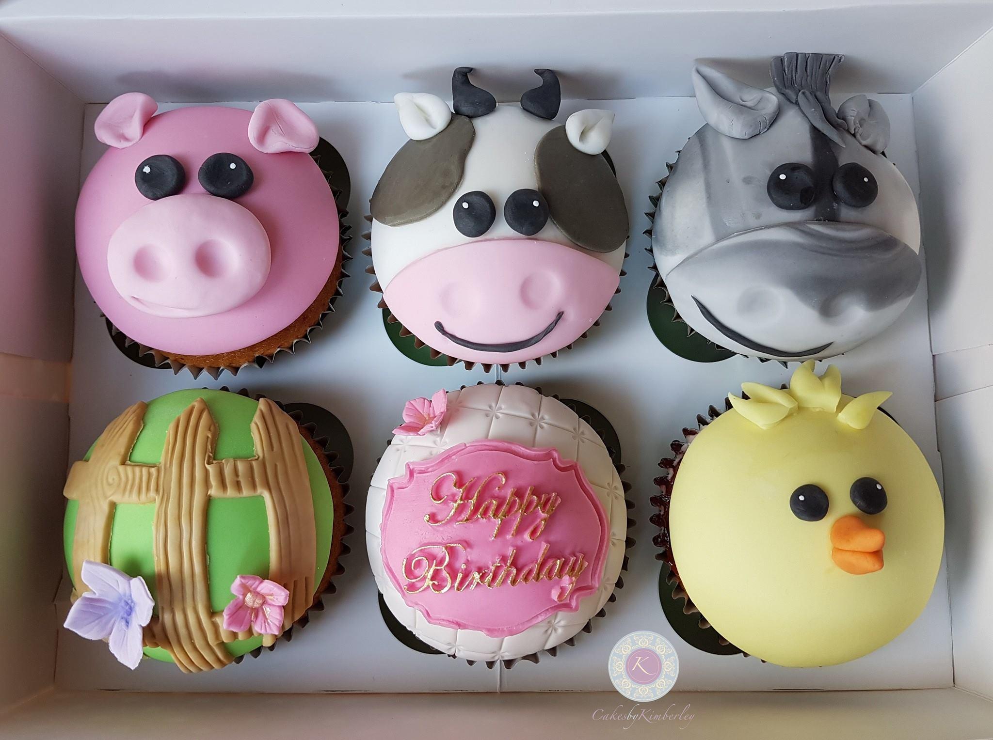farm cupcakes 2