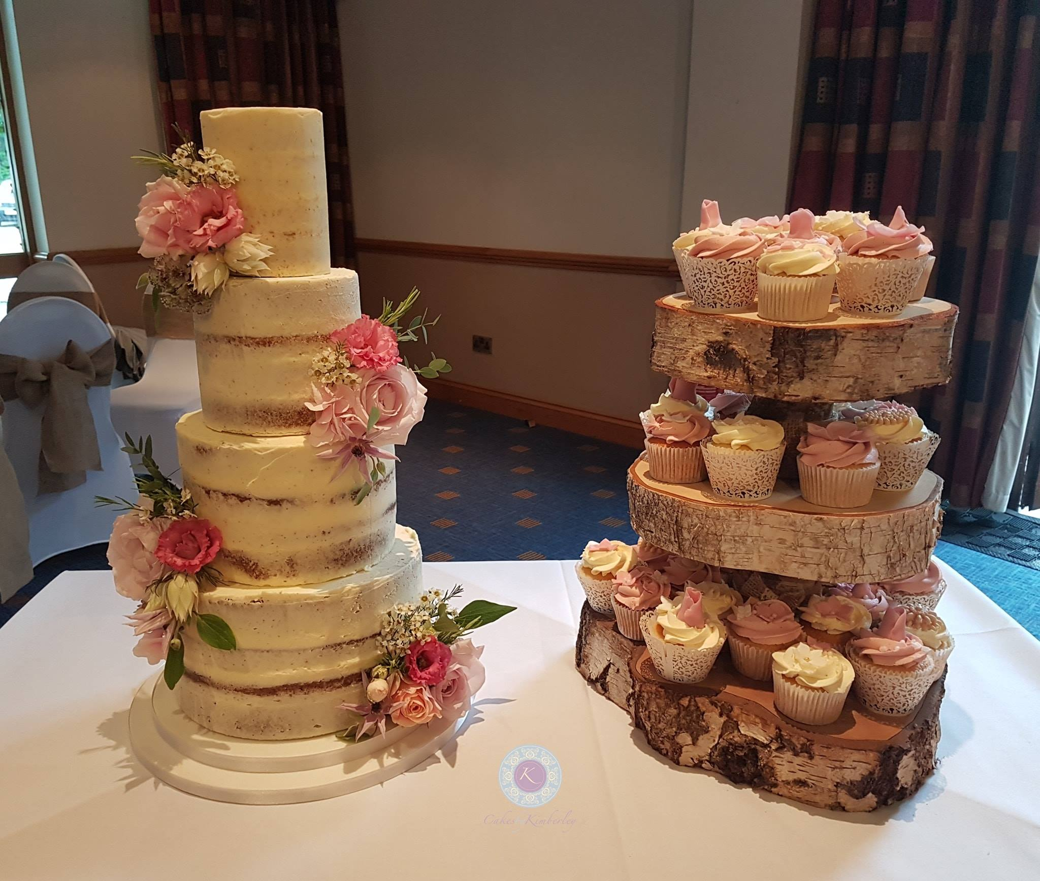Wedding - Charlene cupcakes