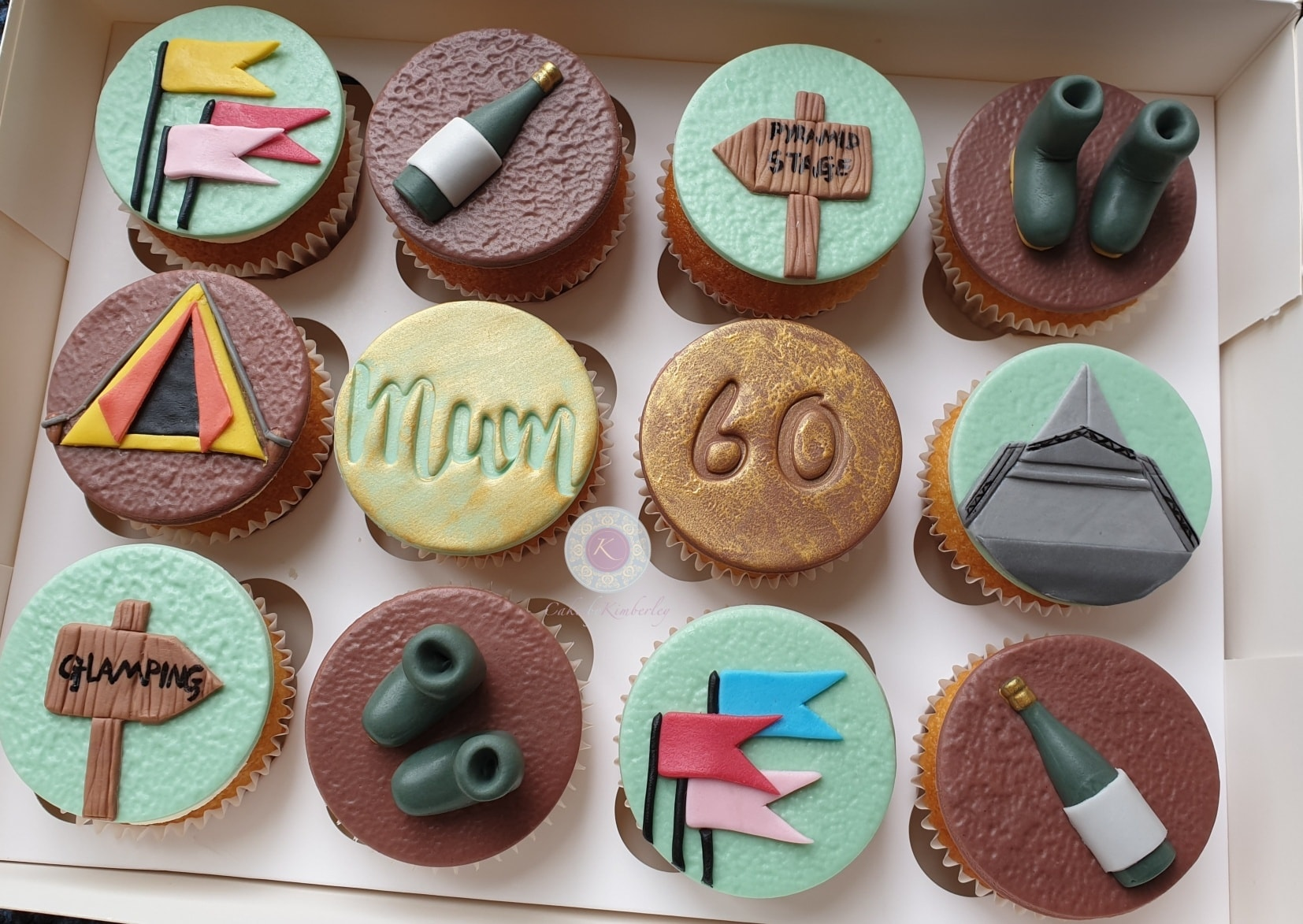 Cupcakes - Glastonbury 60th