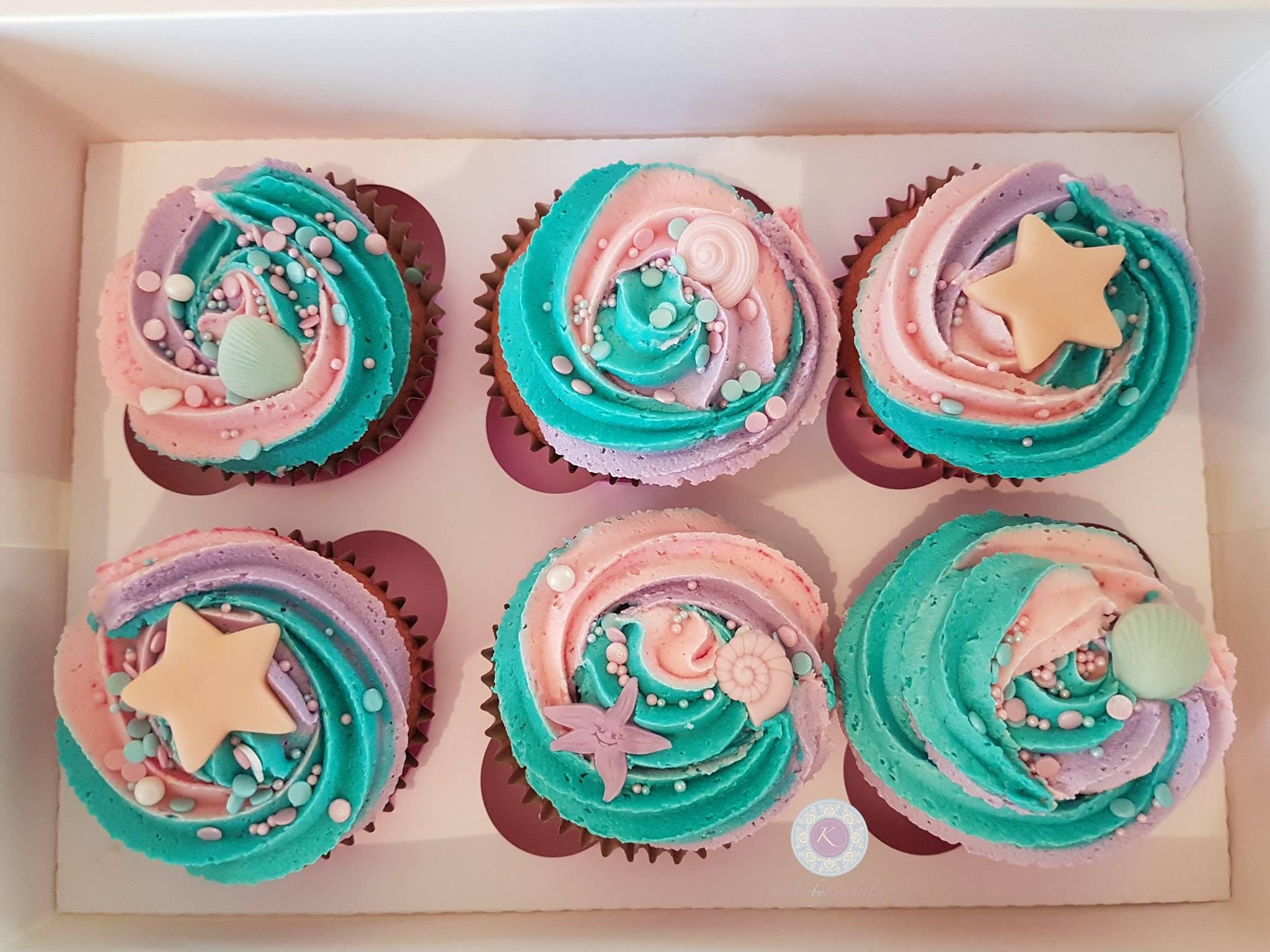 Cupcakes - Mermaid