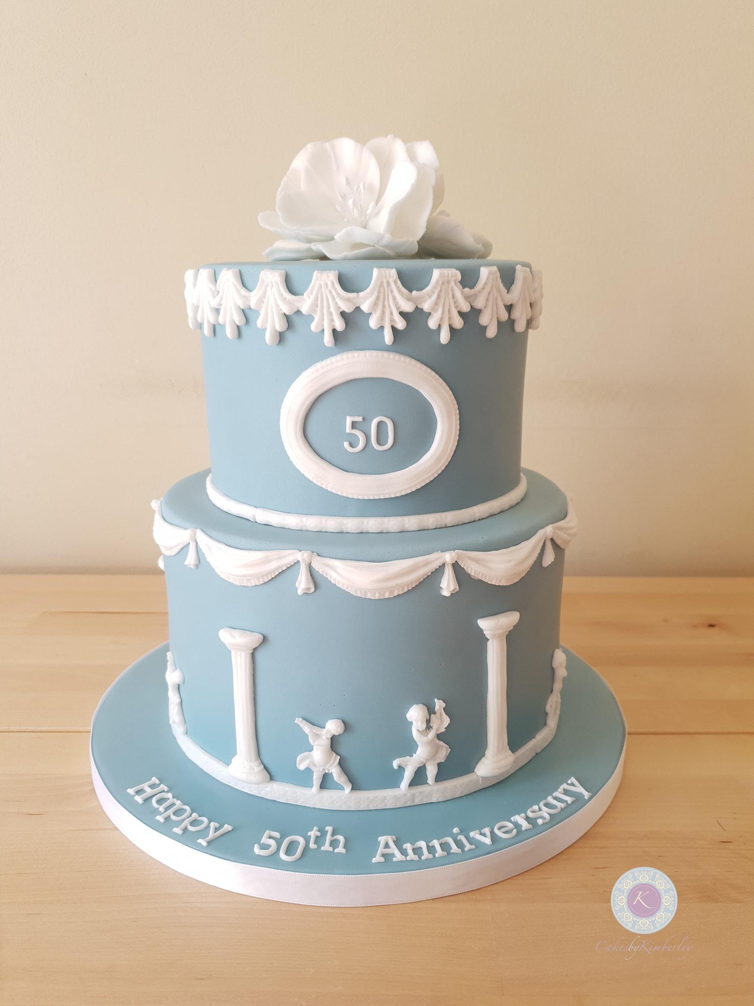 Wedgewood - 50th wedding