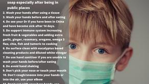 Reducing Risk of Coronavirus Spread