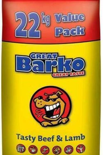 Barko Dog Food 22kg