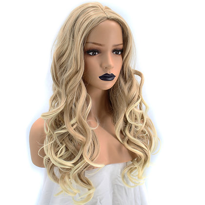 Perruque Longue Blonde Coupe Bouclée Californian Wavy Wig Maddy
