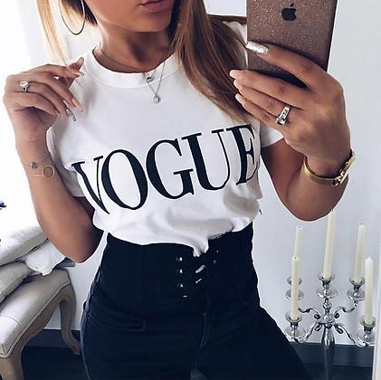 T-shirt Vogue 100% Coton