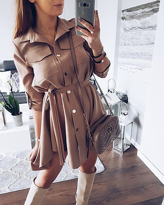 Robe Blouse à Boutonner Leah dress blouse shirt casual 2018 outfit of the day