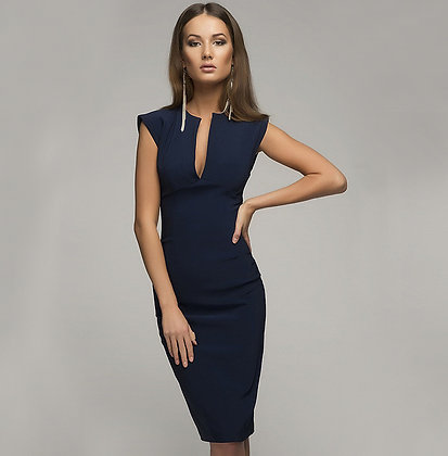 Robe Chic Coupe Crayon Working Girl