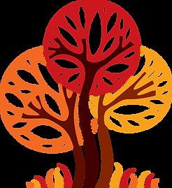 multicolour plant graphic image