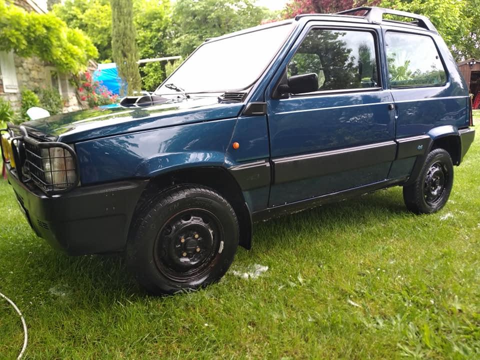 La panda 4x4 à l'achat dans sa configuration d'origine.