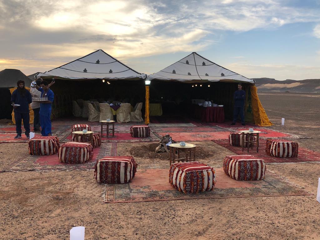 Campamento Paris Dakar