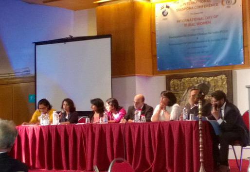 International Diaspora Conference on 'Indian rural women: role models, achievements & challenges', 2016