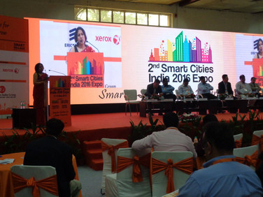 Smart Cities Conference, New Delhi 2016