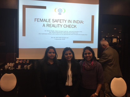 Female Safety in India - a Reality Check, 2018