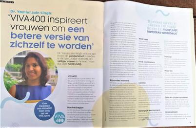 Interview in VIVA Magazine