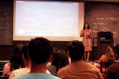 Invited Lecture at Faculty Planning, CEPT University, Ahmedabad, India