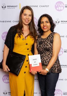 With Gemma Damen at VIVA400 Awards 2019